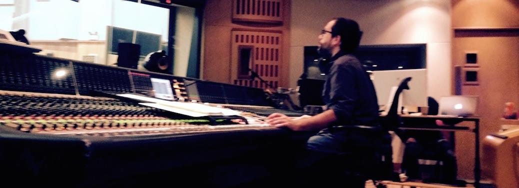 Recording Crimson Peak